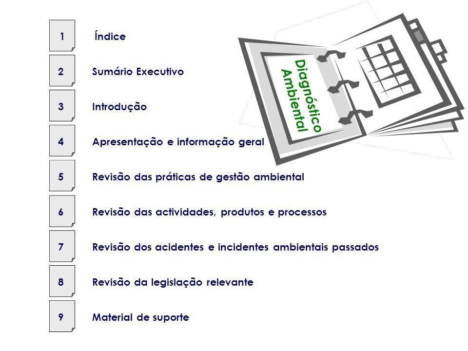 Avaliação dos Aspectos e Impactes Significativos ? Aspectos & Impactes Identificados Questões Documentos Conclusões e Recomendações Passos nos Process
