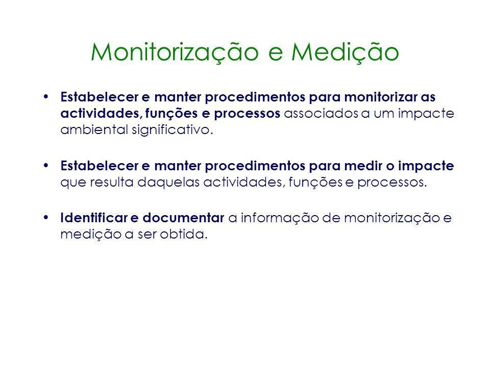 Revisão pela Gestão Planeamento Implementação e Operação Verificação e Acção Correctiva Melhoria Contínua Verificação e acção correctiva Monitorização