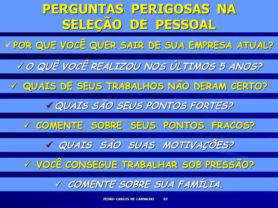 PEDRO CARLOS DE CARVALHO 18 SERVIÇOS Prestação de Serviços em energia, telefonia, logística, etc.