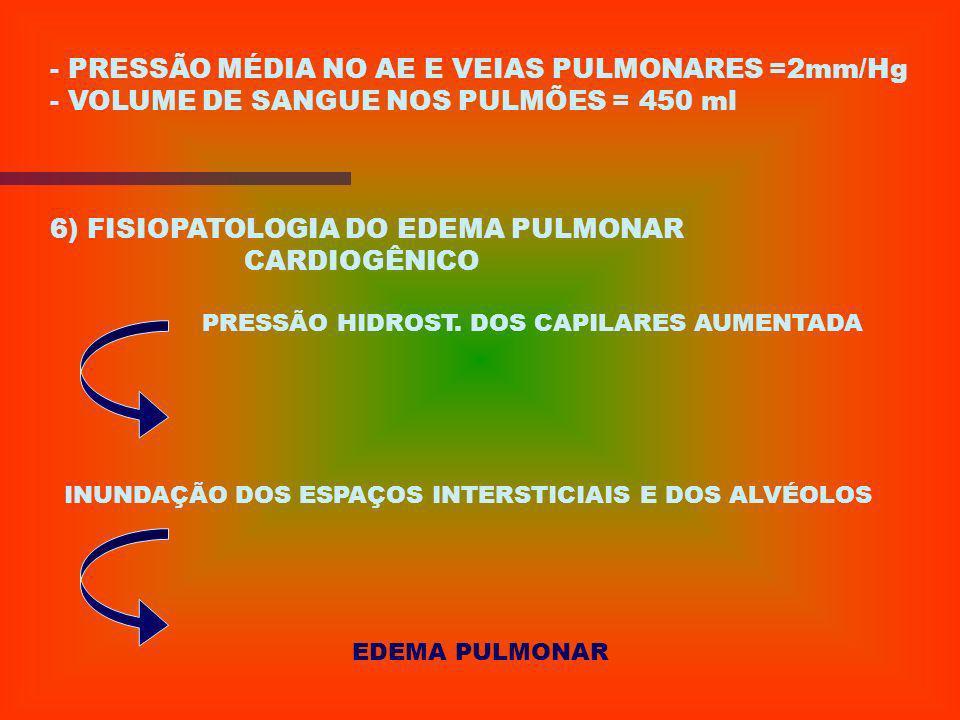 - RETORNO DE SANGUE DOS CAPILARES AO CORAÇÃO - SANGUE: AD VD SIST. ARTERIAL PULMONAR - SANGUE RICO EM 02 : VEIAS PULMONARES AE VE PERIFERIA - CIRCULAÇ
