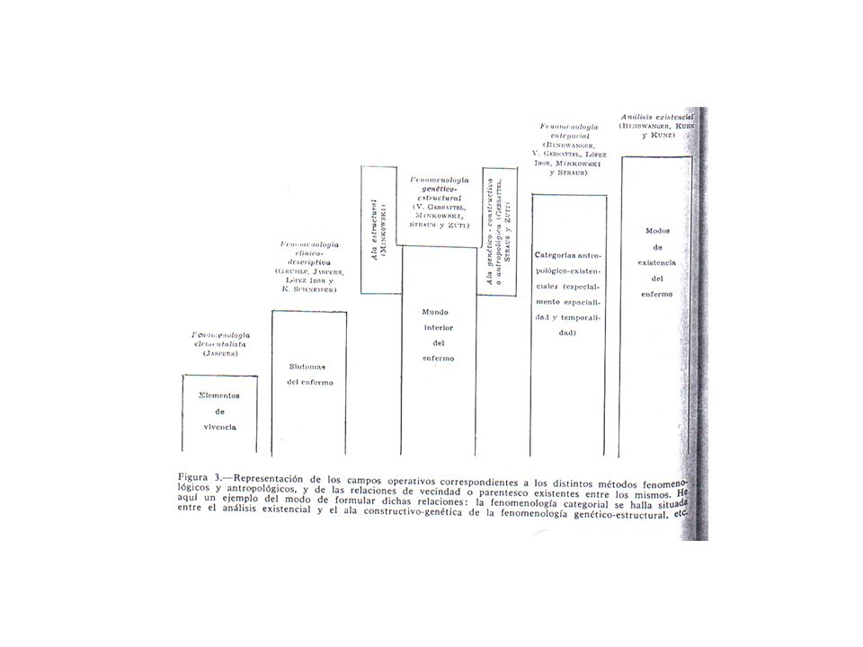 FENOMENOLOGIA ESTRUTURAL CATEGORIAS BÁSICAS DA CONSCIÊNCIA TEMPORALIDADE ESPACIALIDADE INTERPESSOALIDADE EXPERIÊNCIA DO EU MATERIALIDADE (CORPOREIDADE)