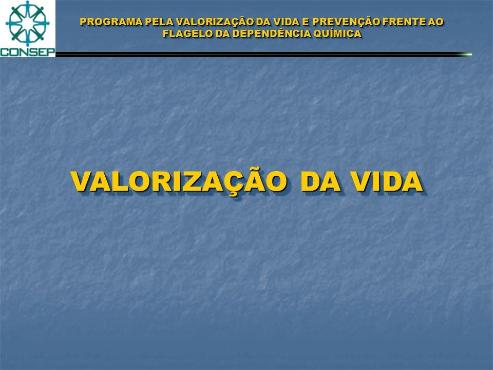 PROGRAMA PELA VALORIZAÇÃO DA VIDA E PREVENÇÃO FRENTE AO FLAGELO DA DEPENDÊNCIA QUÍMICA GERAÇÃO SAÚDE