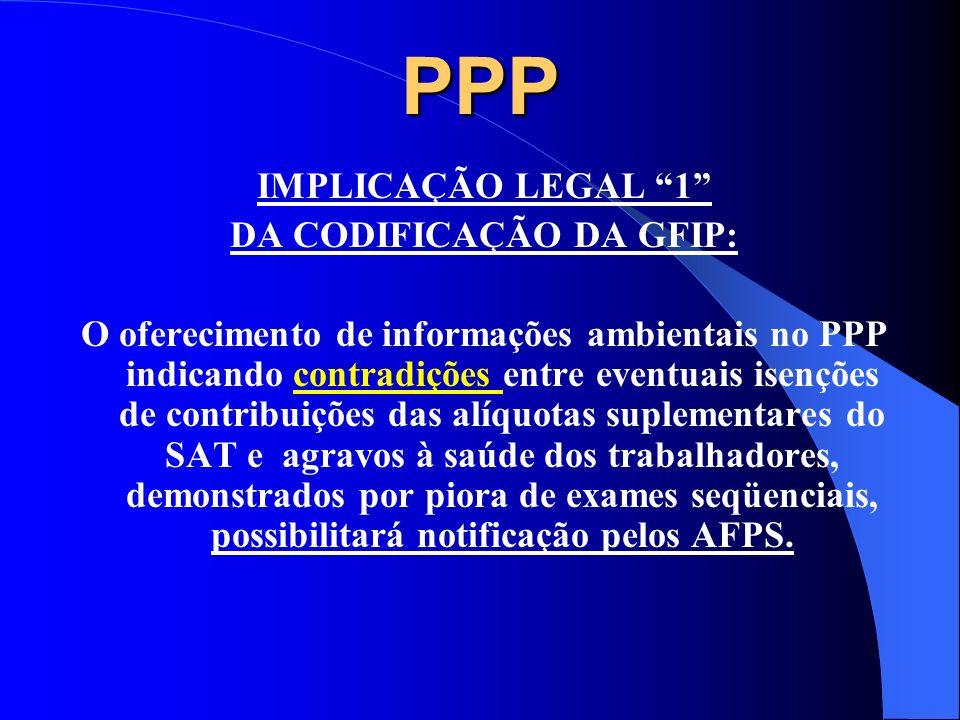 IMPLICAÇÕES LEGAIS E SOCIAIS PPP