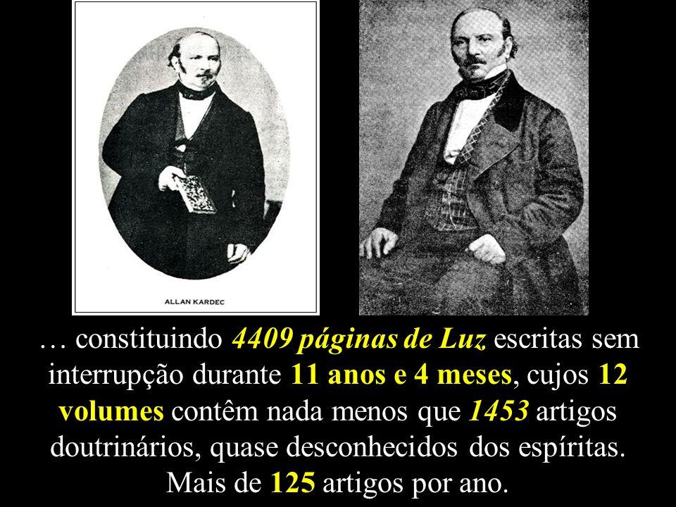 Eis os 12 volumes da Revista Espírita - Jornal de Estudos Psicológicos (1858-1869), Coleção imprescindível que complementa a Codificação.