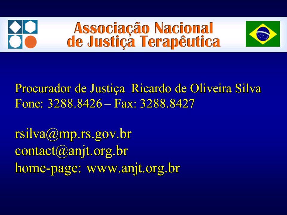 Procurador de Justiça Ricardo de Oliveira Silva Fone: 3288.8426 – Fax: 3288.8427 rsilva@mp.rs.gov.br contact@anjt.org.br home-page: www.anjt.org.br