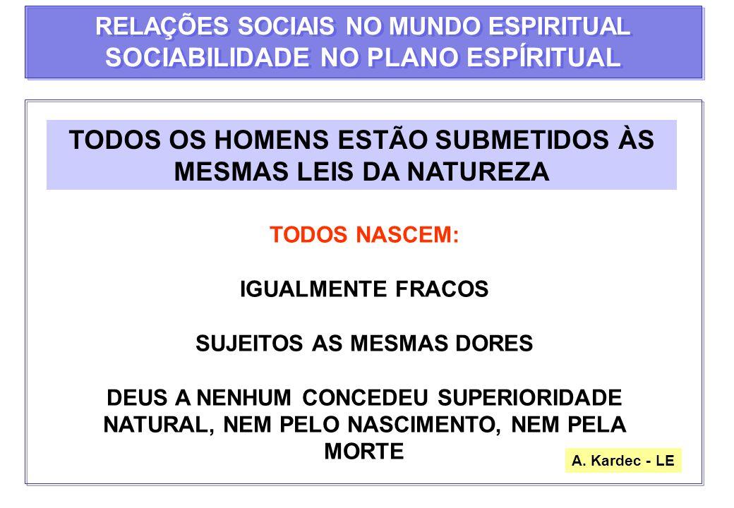 LEI NATURAL ÚNICA VERDADEIRA PARA A FELICIDADE DOS HOMENS PODERIA REGER A SOCIEDADE SE OS HOMENS QUISESSEM PRATICÁ-LAS SOCIEDADE DEPRAVADA PRECISA DE LEIS SEVERA SOMENTE A EDUCAÇÃO PODERÁ REFORMAR OS HOMENS, QUE NÃO PRECISARAM MAIS DE LEIS RIGOROSAS PROPRIEDADE E SEGURANÇA NO MUNDO ESPIRITUAL PROPRIEDADE E SEGURANÇA NO MUNDO ESPIRITUAL