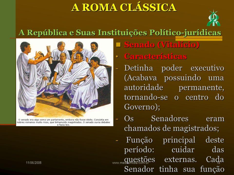Senado (Vitalício) Senado (Vitalício) Características Características - Detinha poder executivo (Acabava possuindo uma autoridade permanente, tornando