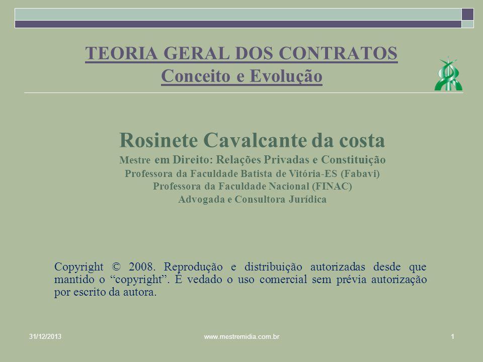 CONCEITO E EVOLUÇÃO DOS CONTRATOS 1.