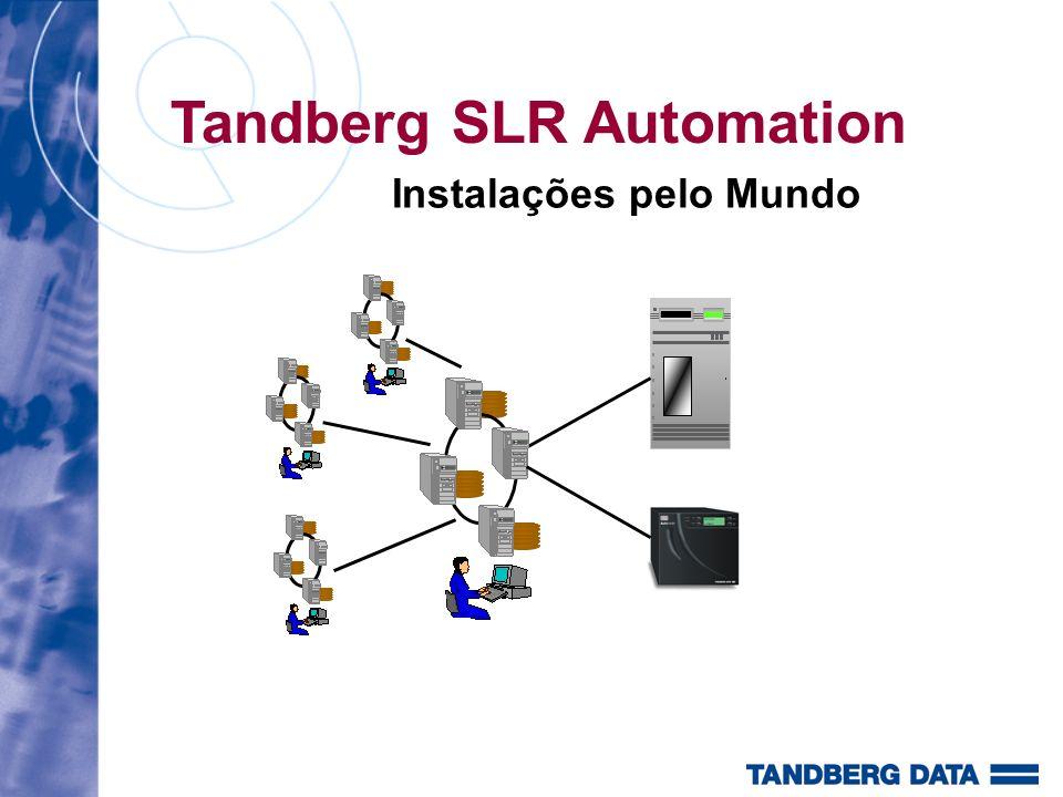 Tandberg SLR Automation Instalações pelo Mundo