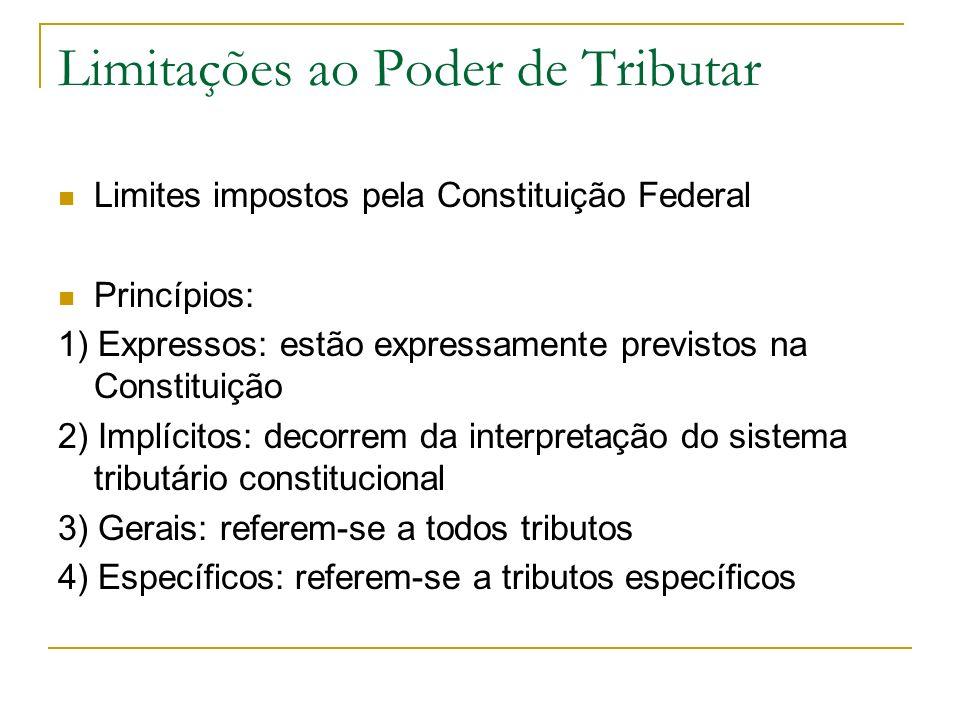 Princípio da Legalidade Art.150.