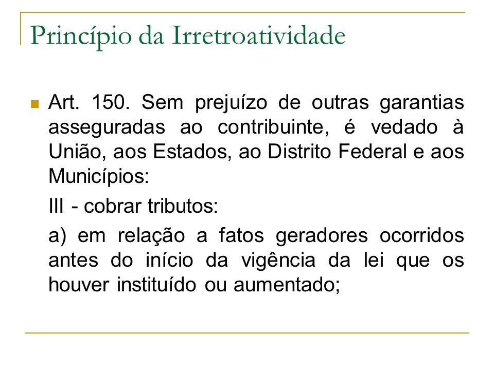 Imunidades - Classificação Objetivas (relacionadas a matéria tributável) x Subjetivas (relacionadas a pessoa).