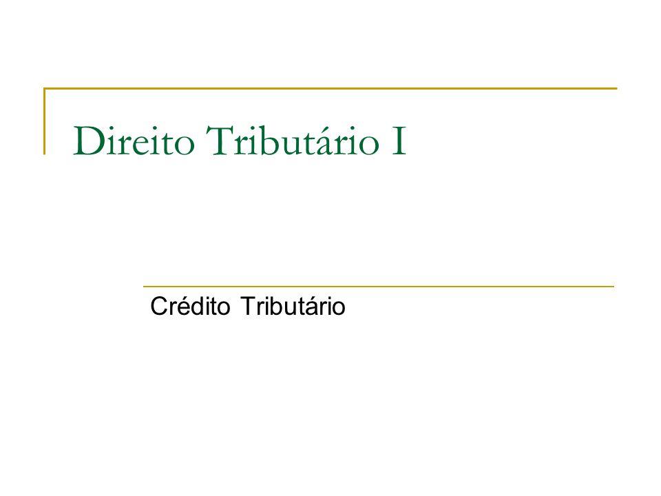 Extinção do crédito tributário Art.156.