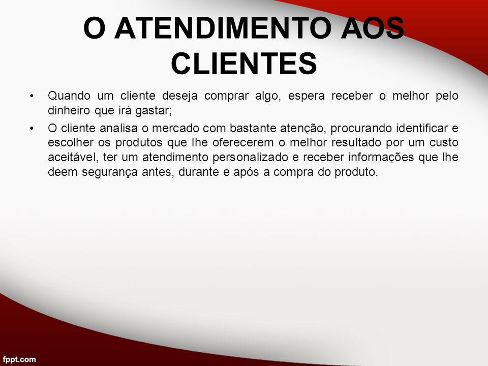 Os 10 princípios para a excelência no atendimento ao cliente 1.Dê ao cliente toda a atenção que ele merece.