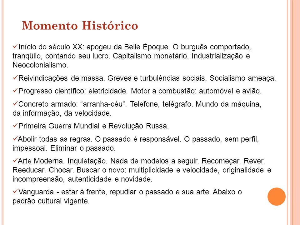 Comparado a outros movimentos modernistas, o brasileiro foi desencadeado tardiamente, na década de 20.