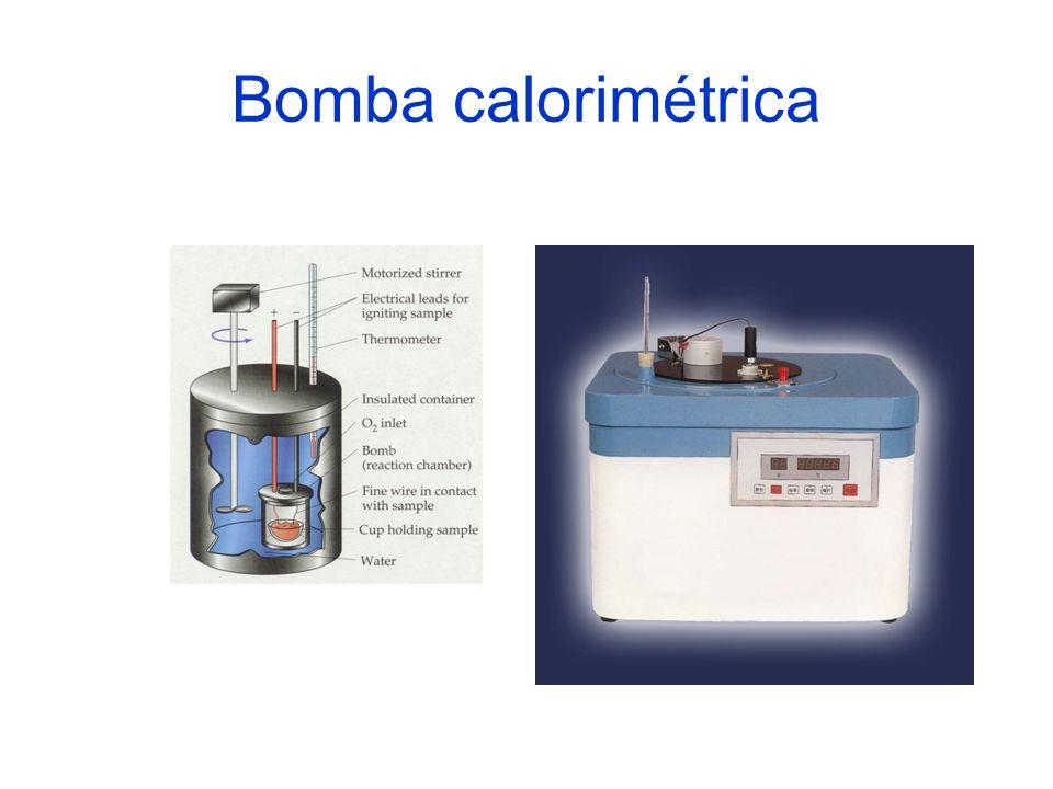 Bomba calorimétrica