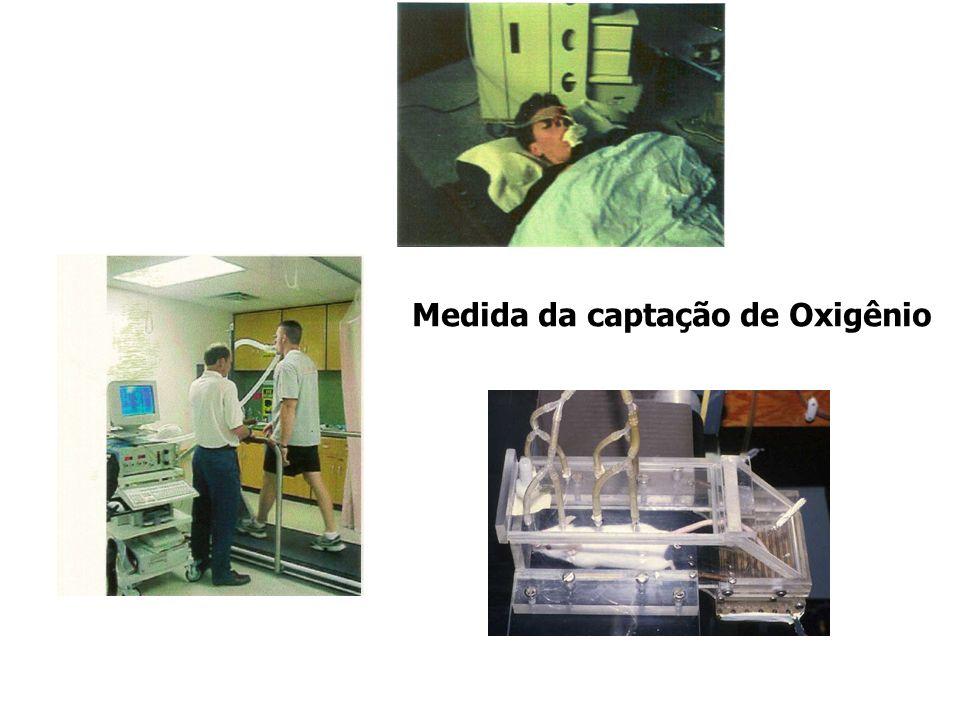 Medida da captação de Oxigênio