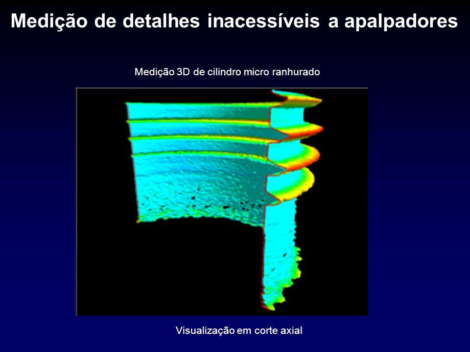 Comparação com máquina de medir formas I-RadCircularímetro