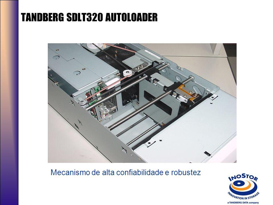 TANDBERG SDLT320 AUTOLOADER Facilidade no reparo em campo