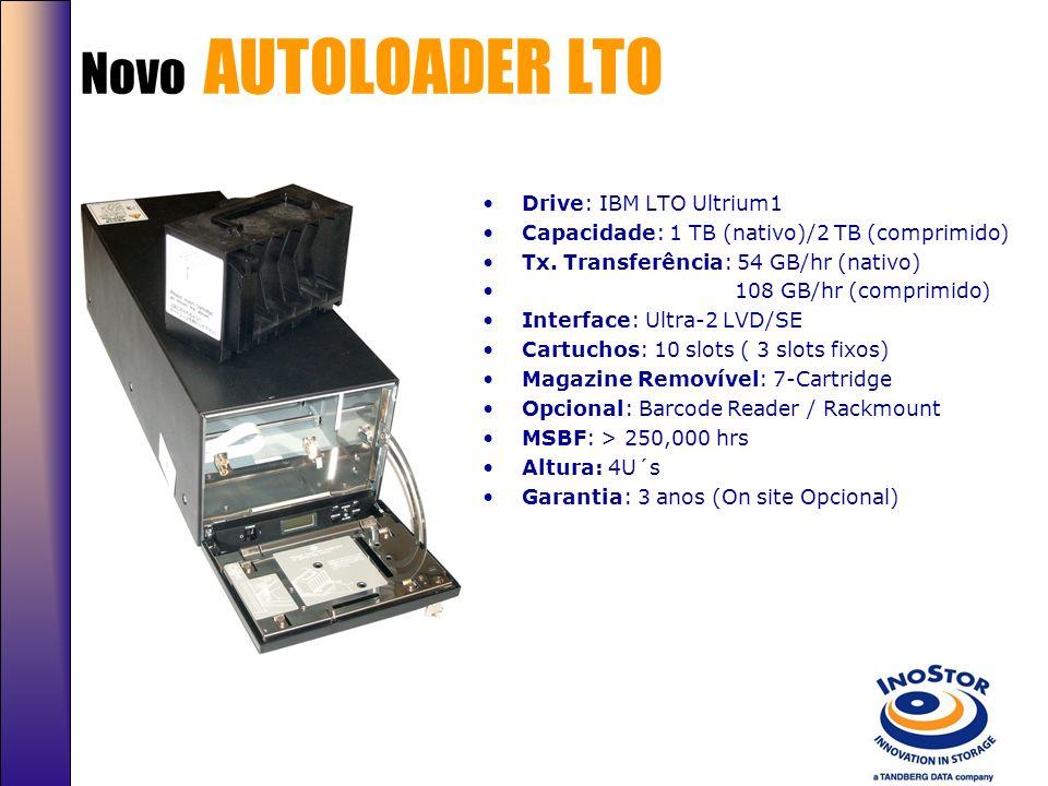 TANDBERG SDLT320 AUTOLOADER Mecanismo de alta confiabilidade e robustez