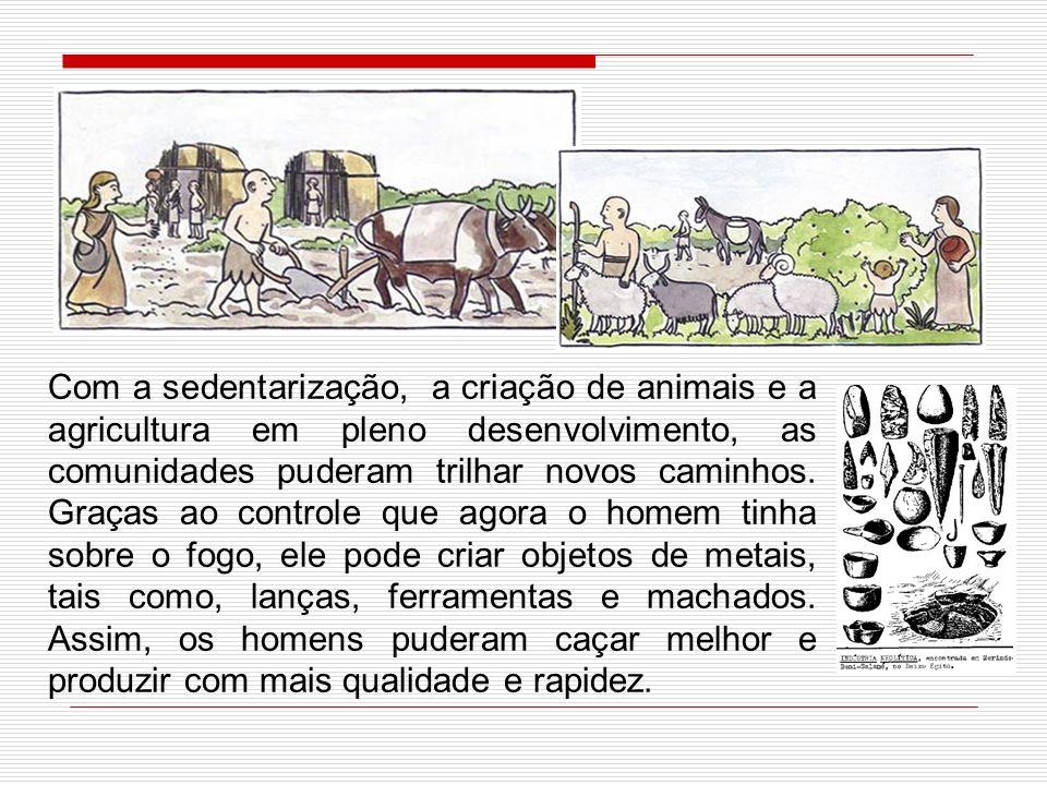 Depois de mais de 1 milhão de anos de andanças do homem pelo mundo, a sedentarização, que ocorreu em diferentes épocas e lugares, transformou parte do