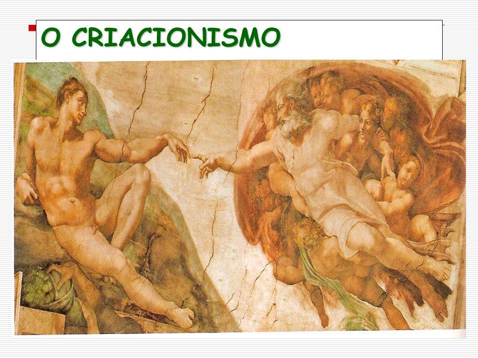 O CRIACIONISMO