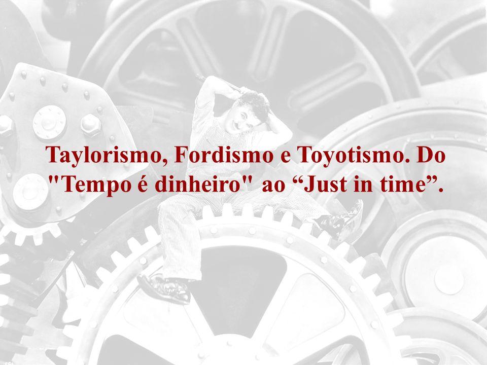 Taylorismo, Fordismo e Toyotismo. Do