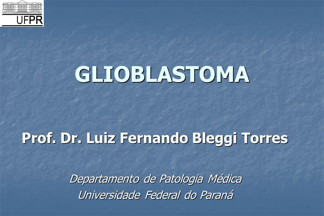 GLIOBLASTOMA Prof. Dr. Luiz Fernando Bleggi Torres Departamento de Patologia Médica Universidade Federal do Paraná