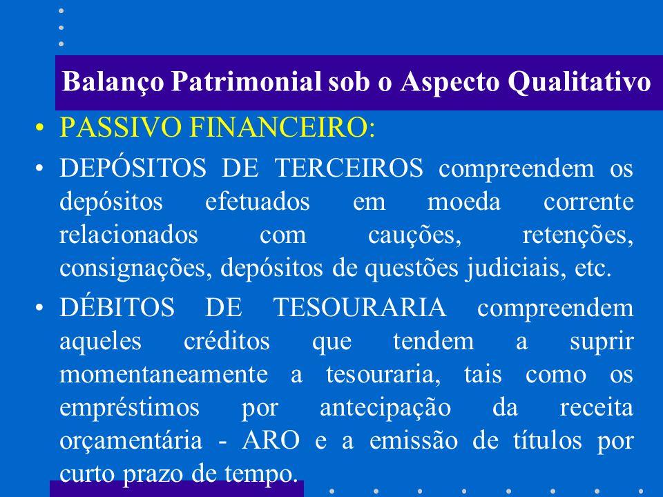 Balanço Patrimonial sob o Aspecto Qualitativo ATIVO PERMANENTE: CAPITAIS EM OUTRAS ENTIDADES compreendem as participações no capital de outras empresa