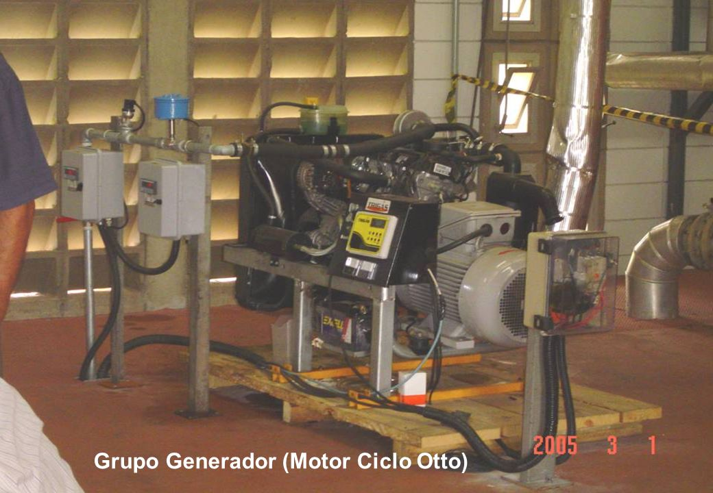 Grupo Generador (Motor Ciclo Otto)