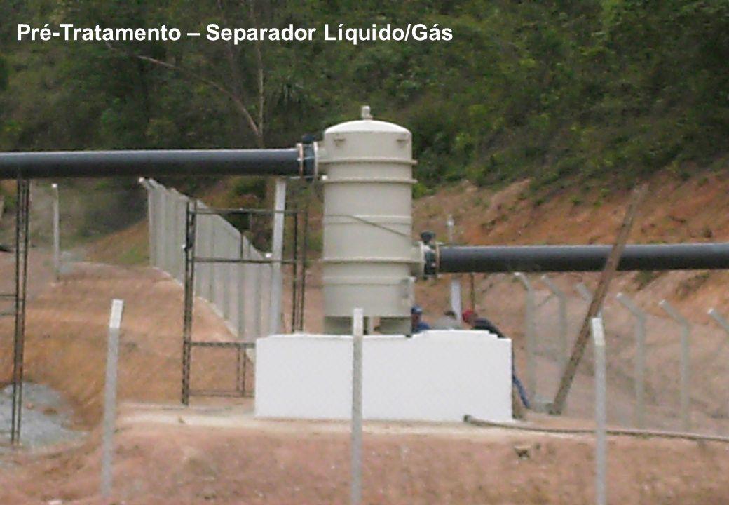 Pré-Tratamento – Separador Líquido/Gás