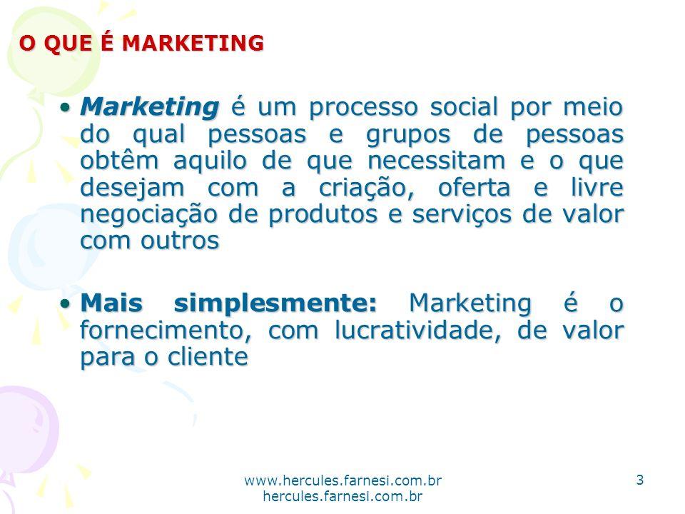 www.hercules.farnesi.com.br hercules.farnesi.com.br Marketing é um processo social por meio do qual pessoas e grupos de pessoas obtêm aquilo de que ne