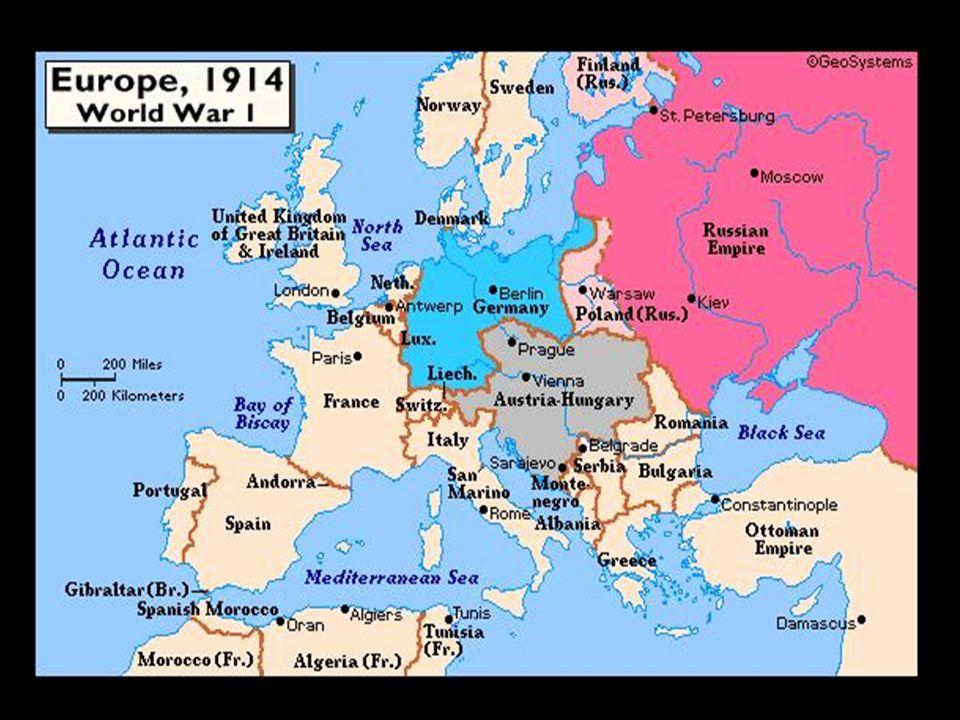 ALEMANHA X INGLATERRA O desenvolvimento industrial alemão estava ameaçando a hegemonia inglesa.