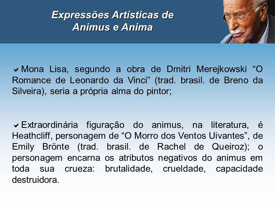 Expressões Artísticas de Animus e Anima Mona Lisa, segundo a obra de Dmitri Merejkowski O Romance de Leonardo da Vinci (trad. brasil. de Breno da Silv