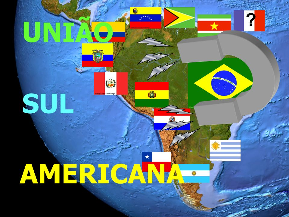 U S A SUL U S A ? UNIÃO AMERICANA
