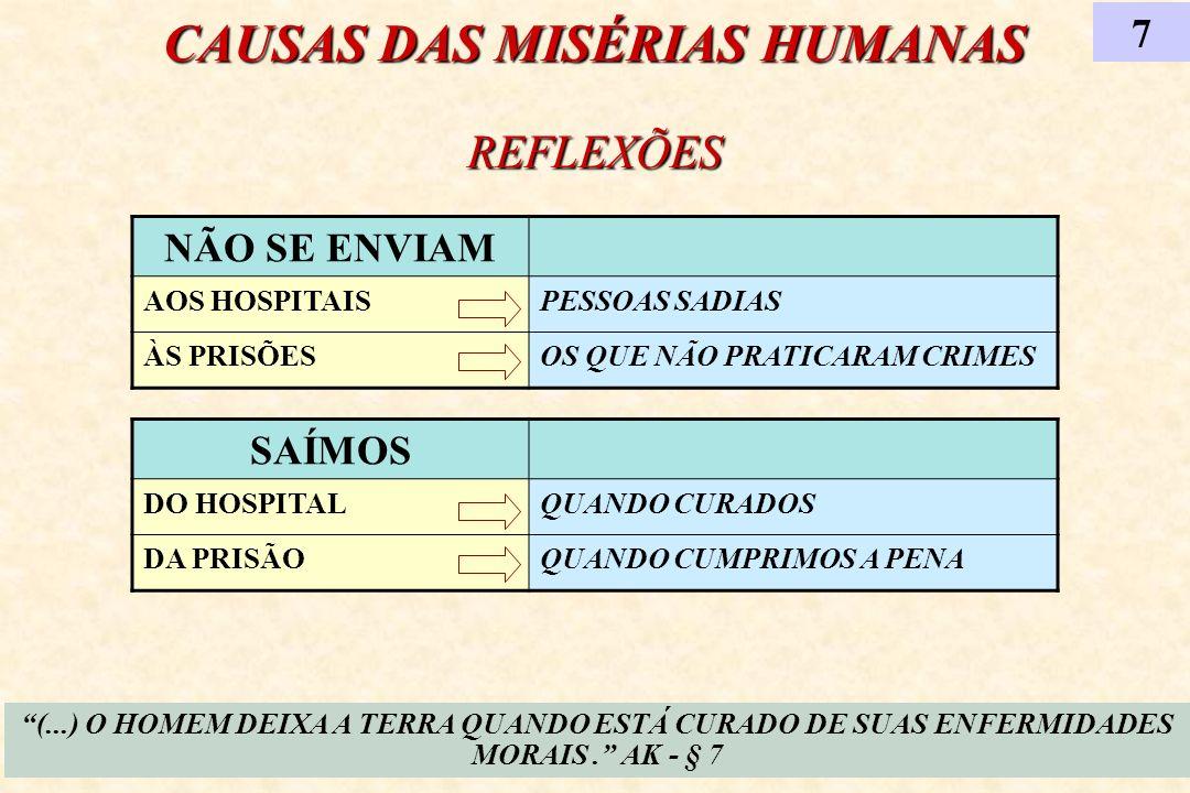 INSTRUÇÕES DOS ESPÍRITOS OS MUNDOS INFERIORES 8 (...) ELES NÃO SERES DEGRADADOS, MAS CRIANÇAS QUE ESTÃO A CRESCER.