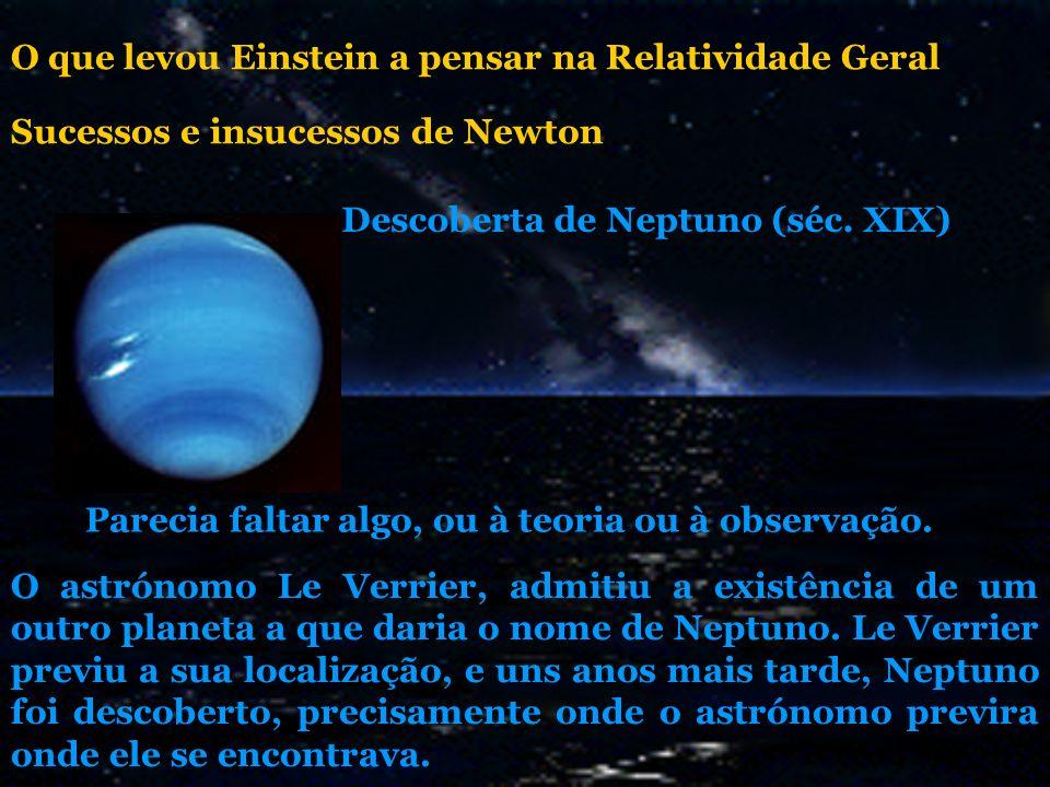 Parecia faltar algo, ou à teoria ou à observação. O astrónomo Le Verrier, admitiu a existência de um outro planeta a que daria o nome de Neptuno. Le V