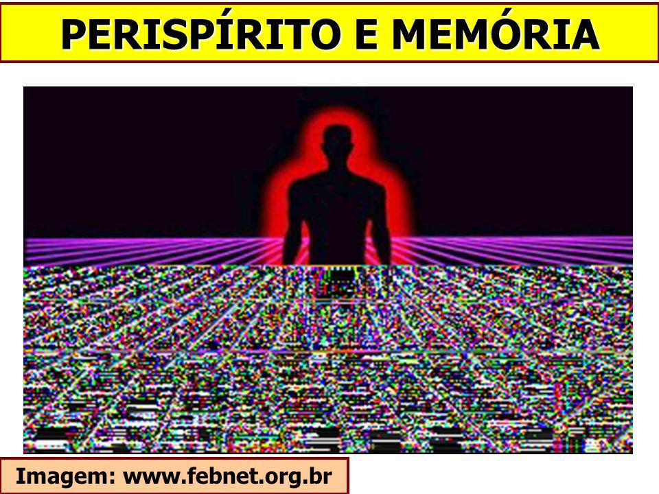 PERISPÍRITO E MEMÓRIA Imagem: www.febnet.org.br