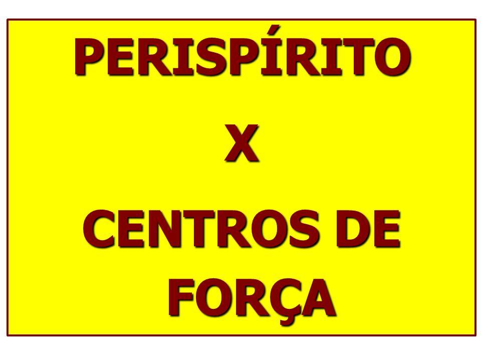 PERISPÍRITOX CENTROS DE FORÇA