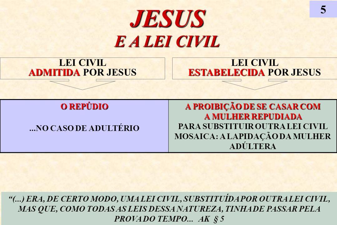 MATÉRIAS RELACIONADAS AO TEMA 6 (...) O ESTUDO DO DIVÓRCIO DEVE SER FEITO LEVANDO-SE EM CONTA OS ENSINOS DOS OUTROS CAPÍTULOS DO EVANGELHO E AS OBRAS COMPLEMENTARES...