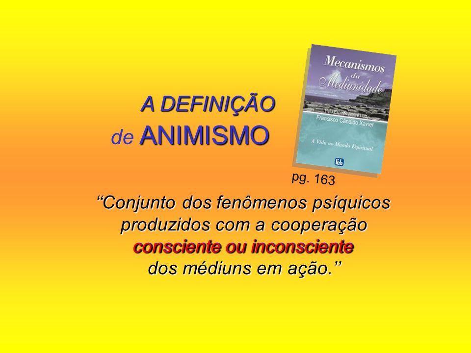 Conjunto dos fenômenos psíquicos produzidos com a cooperação consciente ou inconsciente dos médiuns em ação. Conjunto dos fenômenos psíquicos produzid