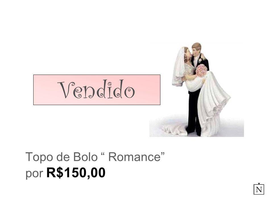 Topo de Bolo Romance por R$150,00 Vendido