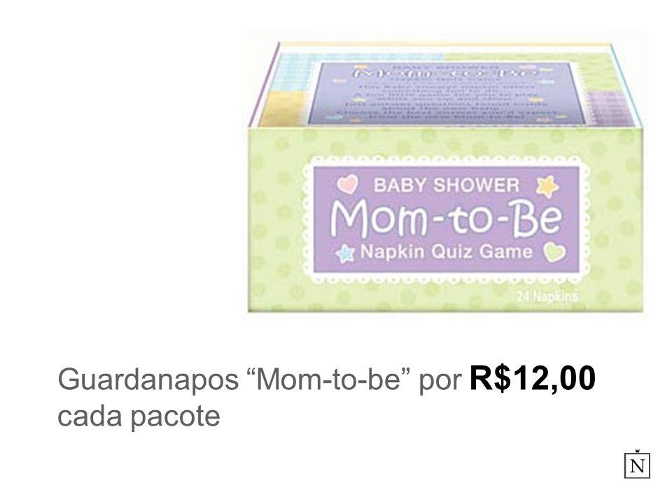 Guardanapos Mom-to-be por R$12,00 cada pacote
