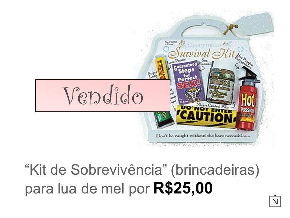Kit de Sobrevivência (brincadeiras) para lua de mel por R$25,00 Vendido