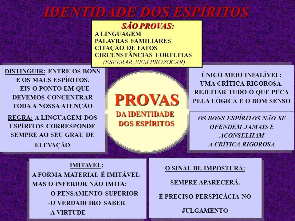 JULGAMOS OS ESPÍRITOS OS ESPÍRITOS (COMO OS HOMENS) PELA SUA PELA SUA LINGUAGEM LINGUAGEMJULGAMOS OS ESPÍRITOS OS ESPÍRITOS (COMO OS HOMENS) PELA SUA