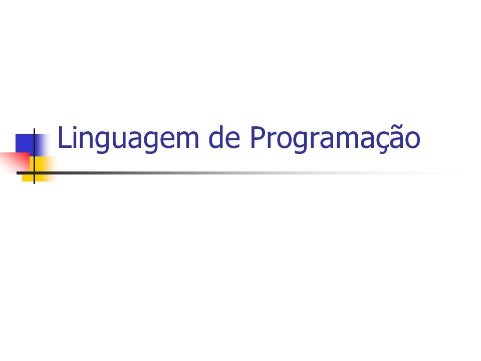 Um programa de computador é um conjunto instruções que representam um algoritmo para a resolução de algum problema.