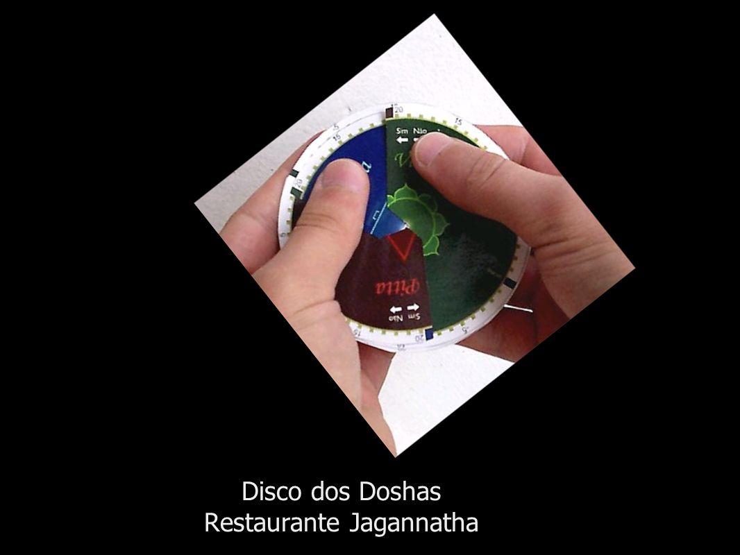 Disco dos Doshas Restaurante Jagannatha