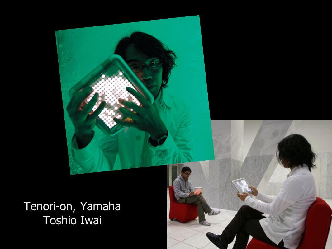 Tenori-on, Yamaha Toshio Iwai