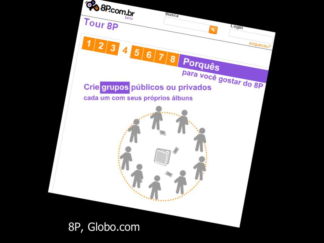 8P, Globo.com