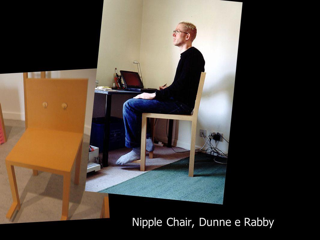 Nipple Chair, Dunne e Rabby