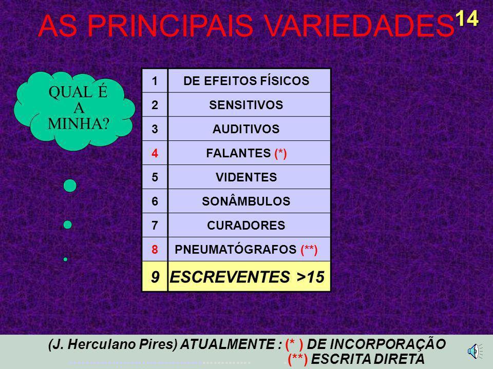 AS PRINCIPAIS VARIEDADES 14 (J.